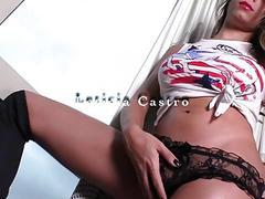 Leticia Castro solo scene