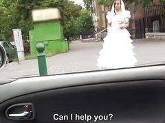 Hot bride fucks after failed wedding