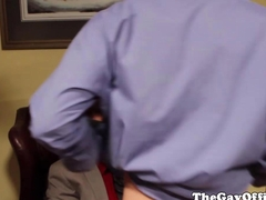 Duncan Blacks office boss fucking him