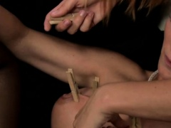 Two kinky blondes play with all sorts of sex toys