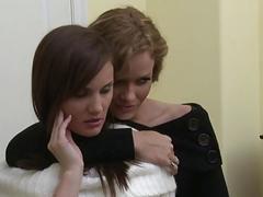 Busty babes Jelena Jensen and Nina Mercedez