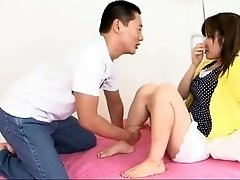 Yurika Gotou is woken from her nap by her horny boyfriends fondling