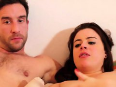 Amateur lezzie nymphos get their spread snatches licked and