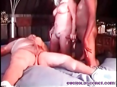 Cuckold Sissy videotapes his wife with BBC stud
