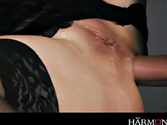 sheriff fucks convicted bombshell cathy heaven in her ass