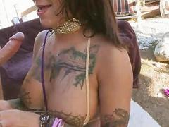 Horny Bonnie Rotten loves