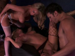 Lesbian Sex And Hetero Blowjob Hardcore