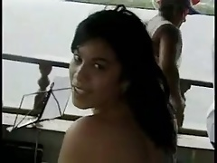 Anal fucked on boat