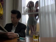 Insatiable Oriental wife gets the hard pounding she desires