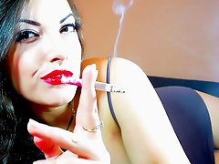 Smoking Fetish Alexxxya