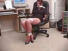 SECRETARY BOUND & GAGGED