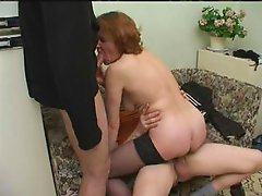 Son and his friend fucks mother